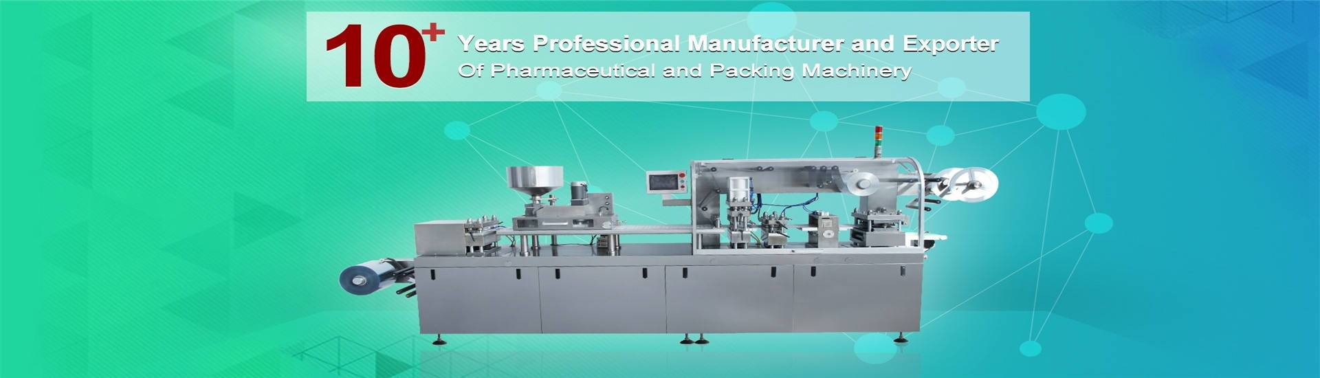 pharma and packing machine